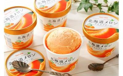 とよとみ牛乳北海道メロンアイスクリームの詳細はコチラ