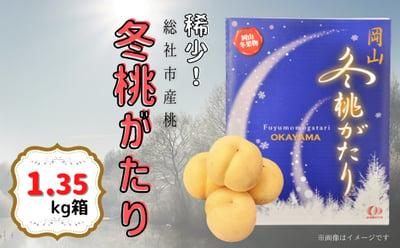 総社市産桃「冬桃がたり」の詳細はコチラ