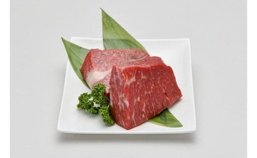 赤崎牛 【 赤身レンガ ステーキ 】約600g 牛肉