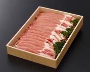 077茨城県産豚肉「ローズポーク」ロースすき焼き用約1.6kg
