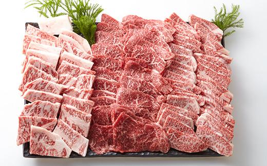 【おうちBBQ】50025 飛騨牛焼肉セット三種盛り 1.5kg