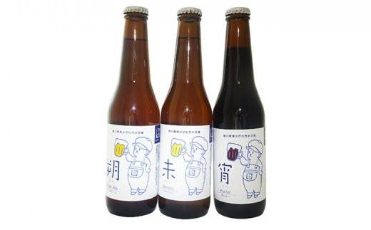 [№4631-1957]優しい味わいのクラフトビール 3種くらべ