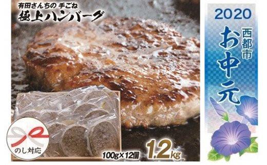 【お中元】有田さんちの手ごねハンバーグ極上ステーキ <B1-154>