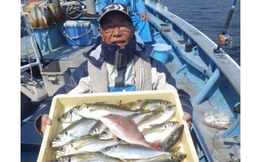 【師崎漁協】中物乗合1人利用券/釣り船