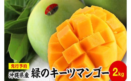 緑のマンゴーキーツ(2㎏)【先行予約】【2021年8月下旬~9月頃発送】