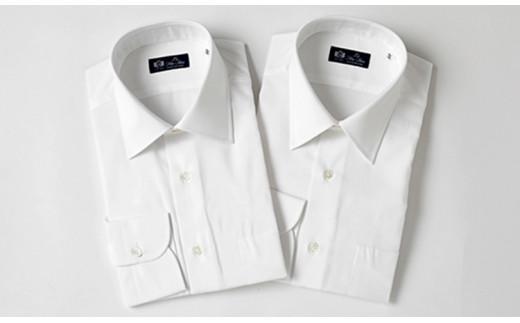 HITOYOSHIシャツ 白 ブロード 2枚セット