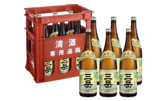 ※価格変更※三岳1.8L  6本セット(プラスチックケース)