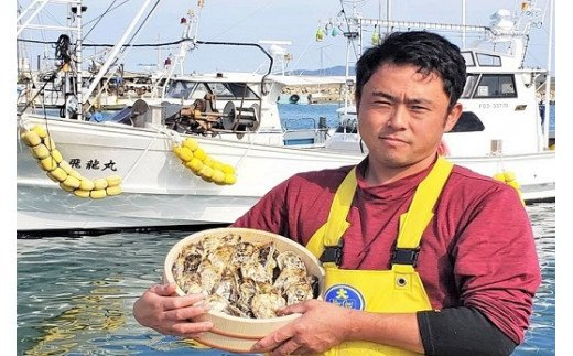 殻付き生食用福吉の牡蠣3kg【福岡県糸島産】