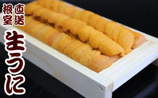 B-36020 【北海道根室産】エゾバフンウニ130g×1折(黄色)