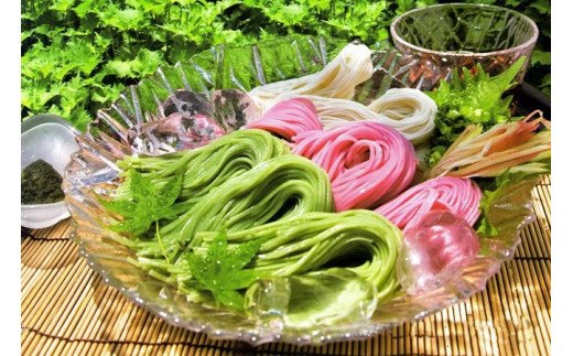 【L03001-S】大葉素麺・梅じそ素麺ギフト ≪ お中元 ギフト のし 対応可 ≫