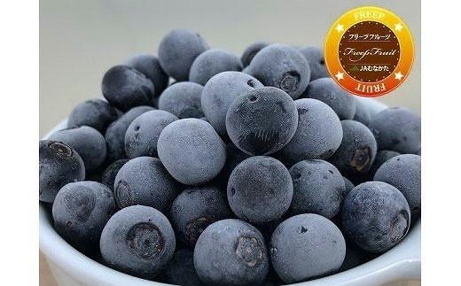 急速冷凍!栽培期間中無農薬ブルーベリー1.2kg[A4005]