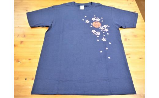 【クマノザクラTシャツ:ネイビー1枚】Lサイズ