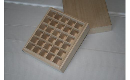職人技【上古代のアロマオイル収納ボックス30P(6本×5本)1箱】