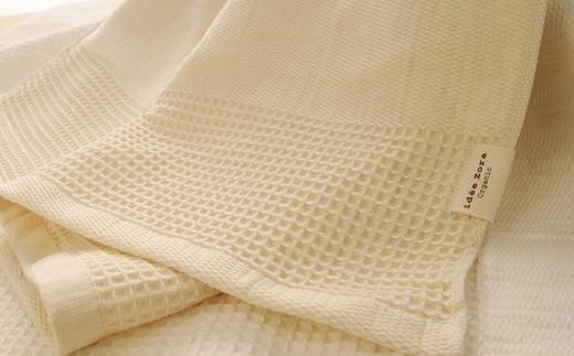オーガニックワッフルフェイス タオル OG-5 大正紡績糸使用 今治タオル ブランド 認定品_11116