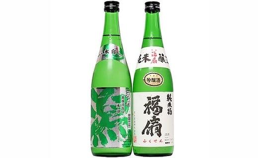 1-353 河忠酒造飲み比べセット(720ml×2本)