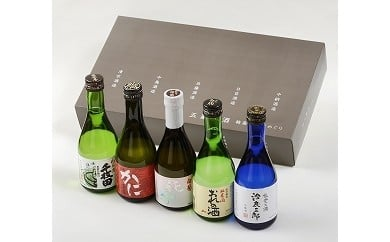 五蔵六酒 輪島の酒蔵めぐり(300ml×5本)