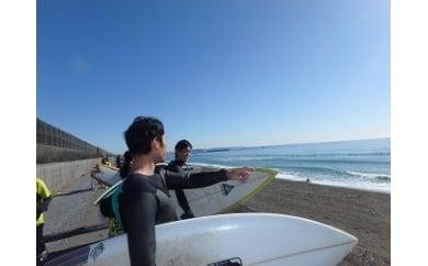 サーフィン体験 半日(2名利用)