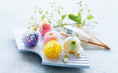 [№5674-0133]日本の四季を3度 味わう 和菓子セット