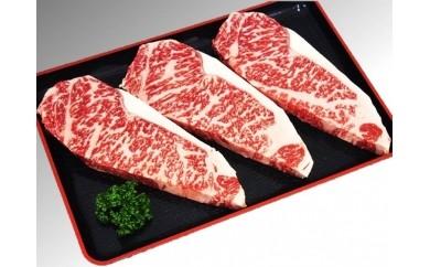 【D12】熟成肉はなが牛サーロインステーキ(1月配送)