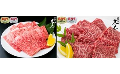 【飛騨牛】絶品ロースともちもちモモ肉の焼肉セット計1kg