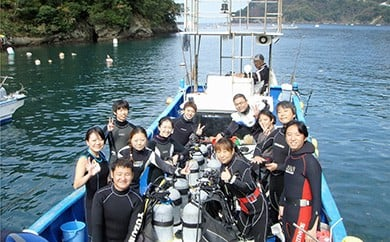 西伊豆の海を堪能!のんびり2ボートダイビング