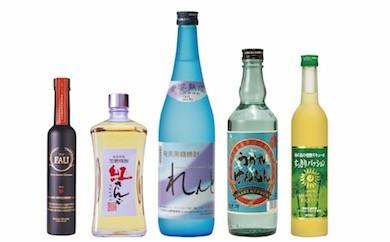 [奄美黒糖焼酎]奄美大島開運酒造の5種類30本セット