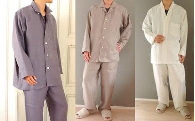 IF-2.【上質な肌ざわりが快適】リネンメンズパジャマ