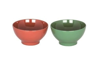 C5901 川連漆器 飯茶椀ペア