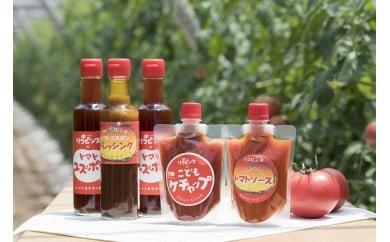 【B21】リコピンズセット(遊子川トマトの加工品)
