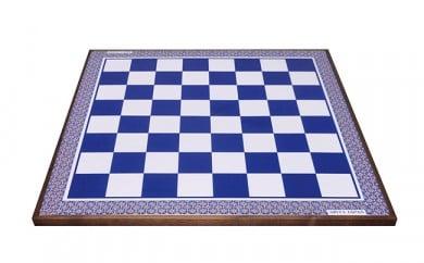 A1000-8 有田焼のチェス盤(瑠璃) 陶楽