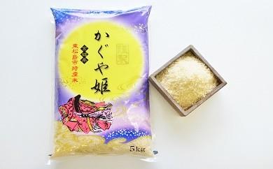 東松島市特産 天授のお米『かぐや姫』(精米5kg)