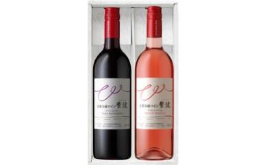 自園自醸ワイン紫波甘口赤ロゼセット