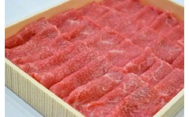 宮崎黒毛和牛<JAこゆ牛>すき焼き用(赤身肉)600g【B126】