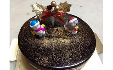 ①【卵・乳製品・小麦不使用!】LE PAYSANのクリスマスケーキ(チョコレートケーキ)