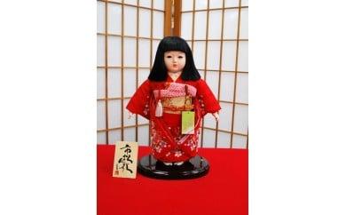 AAX-13 正絹刺繍市松人形・8号