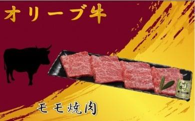044【A5・4等級】オリーブ牛(金)モモ焼肉500g[三木町の肉の匠が造る!]