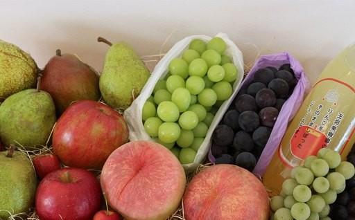 03A0430B 季節のフルーツ詰合せ(9月分)約2.5kg