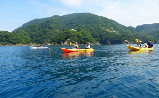 海満喫・わくわくシーカヤック探検ツアー
