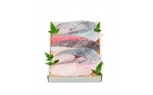 鈴波 魚介味淋粕漬詰合せ(使い道:桜保存事業)