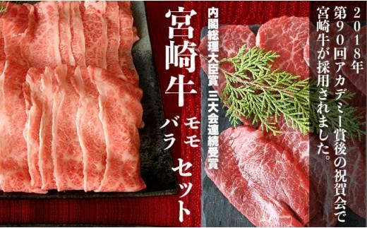 【究極の牛肉】特選 宮崎牛 ブロンズセット<モモ・バラ 計3,600g>【E30】