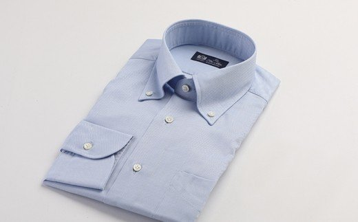 HITOYOSHIシャツ ブルーオックス