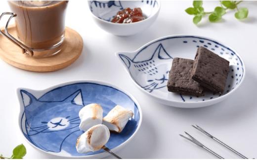 LB21 【波佐見焼】necoシリーズ 皿・鉢necoファミリー16点セット🐈【石丸陶芸】-5