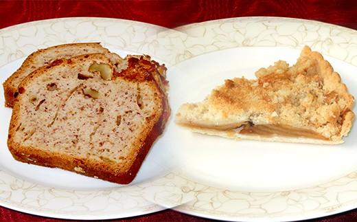 当分の間、お土産は左のバナナパウンドケーキとなります。