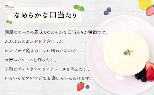 レアチーズケーキ プレーン