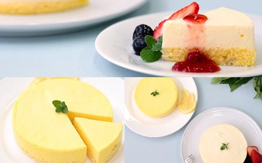 レアチーズケーキ イメージ