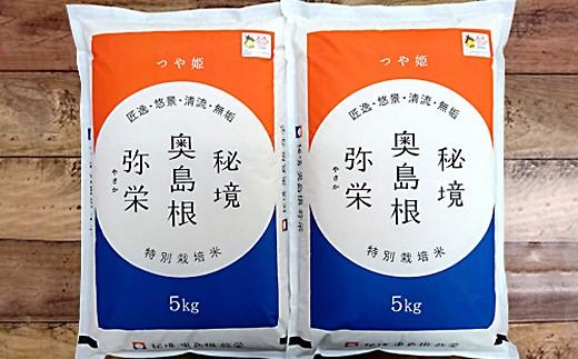 736.弥栄町産特別栽培米「秘境奥島根弥栄」つや姫10kg