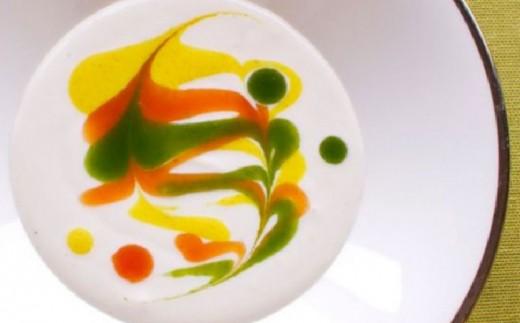 オーベルジュ皿の上の自然「月と太陽の丘」6名様2泊4食(朝・夕)付