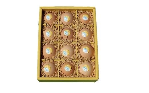 【AE-1】ましくんの完全放し飼い土佐ジローの卵(12個入り)