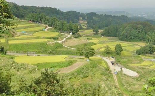 新潟県山古志地域の風景