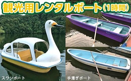 亀山湖 観光用レンタルボート共通利用券+